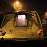 Schneefall über Nacht....