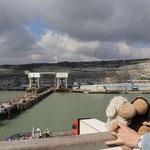 Der Hafen von Dover