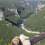 Blick in die Ardèche