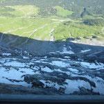 In der Eigernordwand - Blick nach unten