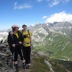 Auf dem Gipfel (2740m) - geschafft!