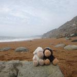 Am Strand in der Nähe von Chale: hier hat Renate Simone den Heiratsantrag gemacht