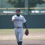内野手 西田(1年:福岡工業高校出身)
