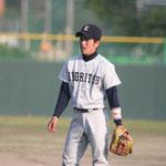 内野手 鶴(3年:城北高校出身)
