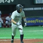外野手 佐藤(3年:八幡高校出身)