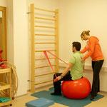 MedOchs Physiotherapie – Gymnastikraum.
