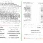 Programmhelft Landesliga Süd 2012 - Zusammenfassung & Aufstellung