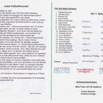 Programmheft Salzlandliga 2015 - Inhalt & Kader
