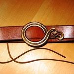 Ring  - aus Bronze geschmiedet