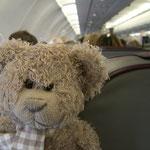 Air Bärlin! Herr Nopf glaubt daran, dass dies seine eigene Airline ist...tssss!