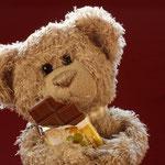 """""""Schonolade"""" mag er am liebsten! Süß muss süß bleiben."""