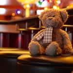Bär an Bar - ob das eine gute Idee für einen soooo kleinen Bären ist?