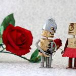 """""""Willst du mein Dornrösschen sein?"""" - """"Und du mein Ritter?"""""""