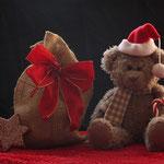 Dezembär - so sehen Teddys eben aus, im Weihnachtsmonat!