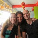 Kino Macgregor and Tim Feldmann, Mysore, India January 2012
