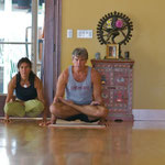 At the Ashatanga Yoga Center ... a couple of years ago.