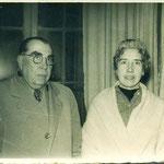 Sr. Manuel Rebolledo Mariani y Sra. Alicia Ritchie de Rebolledo.