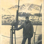 Un linarense en un barco ballenero.