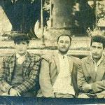 Juan Cordero y el tío Manuel.