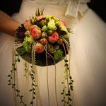 Biedermeier Brautstrauß