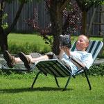 Sommer auf dem Ferienbauernhof in Bayern