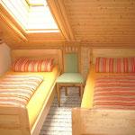 Ferienwohnungen Schwandorf - Zweibettzimmer - Abendrot