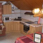 Wohnküche - Ferienwohnung bei Amberg