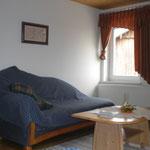 Ferienwohnungen Schwandorf - Wohnzimmer - Abendrot