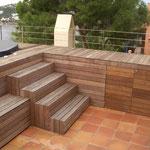 Terrasse mit Jacuzzi, Andratx, Mallorca