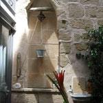 Wandgestaltung mit Brunnen, Palma de Mallorca