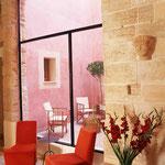 Wandgestaltung, Hotel Palau Sa Font, Palma de Mallorca