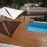 Poolterrasse, Ibiza