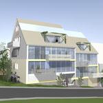 6 Familienhaus Stuttgart Sillenbuch in der Werre 14, im Bau seit  November  2010 Fertigstellung Dezember 2011