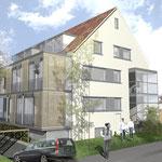 3 Familienhaus Mendelssohn str. 91 im Bau seit November 2010 Fertigstellung Dezember 2011