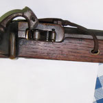 nachgebaute Luntenpistole