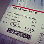 Boarding Pass :)
