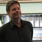 Robert Habeck, Bundesvorsitzender der Grünen in Memmingen