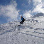 Limone Piemonte - Skifahren nahe Rezzo und dem Rustico Costa-Secca.