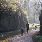 Wandern und Mountenbiken. Faggeta di Rezzo