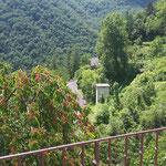 Freie Aussicht von der Terrasse