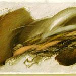 """""""Kijkwijzer""""Graphit ,Farbstift, Papier, 3 Teile, je 48,5 x 98 cm, 2005 € 2.000"""