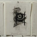 '33 Degenerate Resurrections' pencil,coloured pencil, ink, on paper, 3x36x27cm, signed, 1993,   € 450