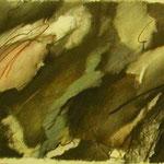 """""""ohne Titel"""" Graphit ,Farbstift ,Papier, 35 x 43 cm, 2008               €    450"""