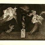 Poeta etching  3/20 1967 29,5x 41                  sold