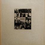 Neue Tendenzen part two, Photo-collage silk screen on glass