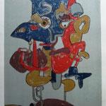 Hlava Valecnika     lithograph, paper,   no. 49/50,  49   x  68 cm,     1980   € 550