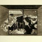 Diptych L. Jesemina etching 11/20 1968 37,5x 53  € 450