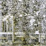 Farnsworth Haus, mixed media, canvas, 165x105, 2010, € 4.000