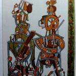 Valecnika   lithograph, paper,  no. 29/33,    49   x  68 cm     1971   € 550