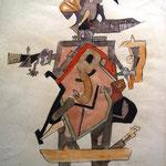 n.t. pastel/aquarelle on paper, 63,3x47,6cm, signed, 1968,   €  3.800